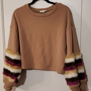 PROMESA CROP SWEATER